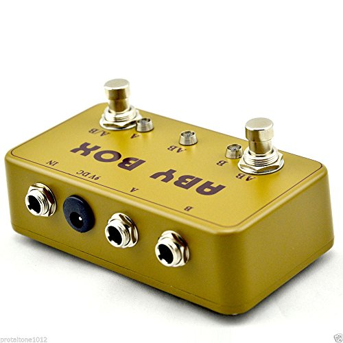 New ABY Effects Pedal Box - True Bypass- Hand