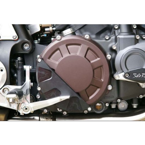 Sato Racing Clutch Cover Protector for Yamaha 09+ VMax 1700 (Y-VMAX09FS-CCP)