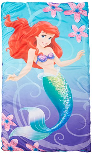 - Disney Princess Little Mermaid Ariel Shimmer and Gleam Slumber-Bag