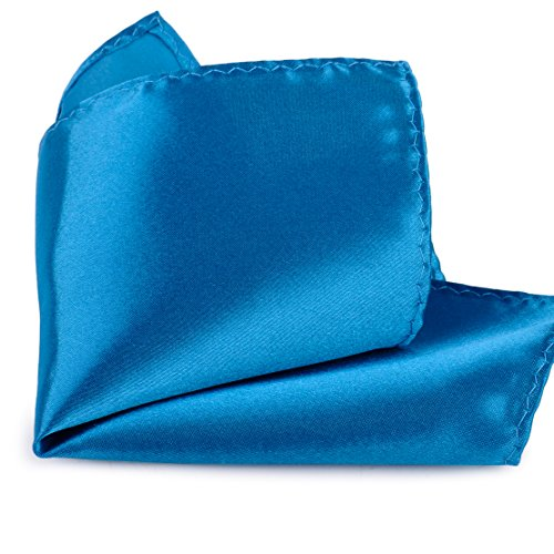26 Pack Men's Silk Pocket Square Handkerchief Hanky Wedding Party Gift ciciTree by ciciTree (Image #6)