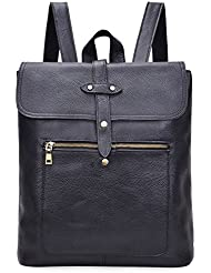 ALTOSY Vintage Leather Backpack Casual Daypacks Rucksack