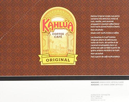 Timothy's Kahlua Coffee (1 Box of 24 K-Cups)