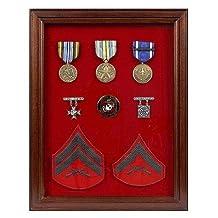 Military Award Shadow Box - Medal Display Case
