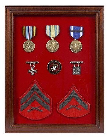 Military Award Shadow Box   Medal Display Case