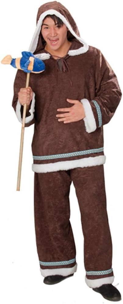 Disfraz de esquimal de forro polar para hombre - disfraz de ...