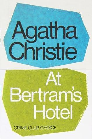 book cover of At Bertram\'s Hotel