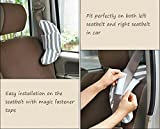 Travel Pillow for Kids, Wo Baby Car Seatbelt
