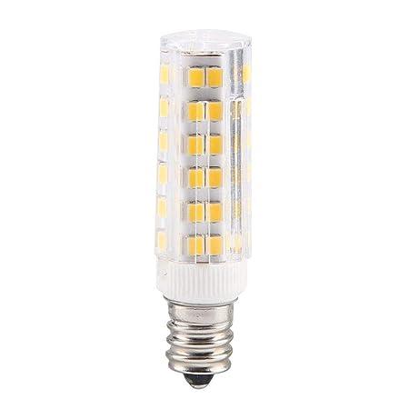Riuty Bombilla de luz de maíz, 5W 76 LED Lámpara de maíz de ...