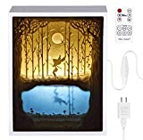 Papercut Light Boxes, Night Light Lamp of Creative Light Paintings – Fairy Butterfly Review