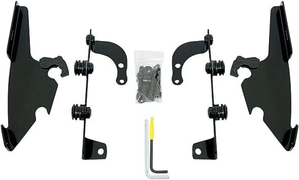 for Honda VT750C2B Shadow Phantom 2010-2013 Memphis Shades MEB8966 Black Trigger-Lock Mounting Kit