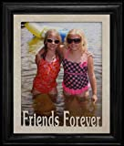 Best PersonalizedbyJoyceBoyce.com Friends Forever Picture Frames - 8x10 FRIENDS FOREVER Portrait Laser Cut Cream Marble Review