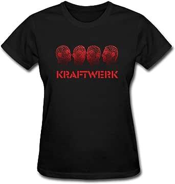 Duanfu Kraftwerk Women's Cotton Short Sleeve T-Shirt