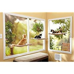 Cat House Bed Window Furniture Sleeping Bad Window Perch Shelf Hammock Pet GIFT