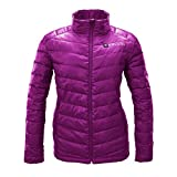 Kelvin Heated Jacket for Women - 5 Heat Zones + 10Hr Battery for the Finest Heated Coat   Charges Cell Phones, Extreme Weather + Rip Resistant, 90/10 Duck Down Puffer Jacket   Cermak, Magenta - XLarge