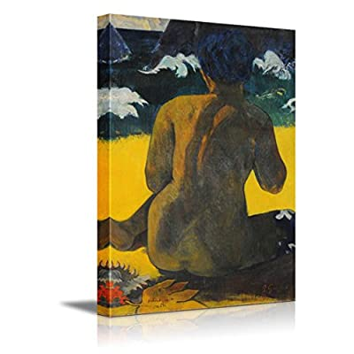 With Expert Quality, Lovely Visual, Vahine No Te Miti (Mujer Del Mar) by Paul Gauguin French Post Impressionist