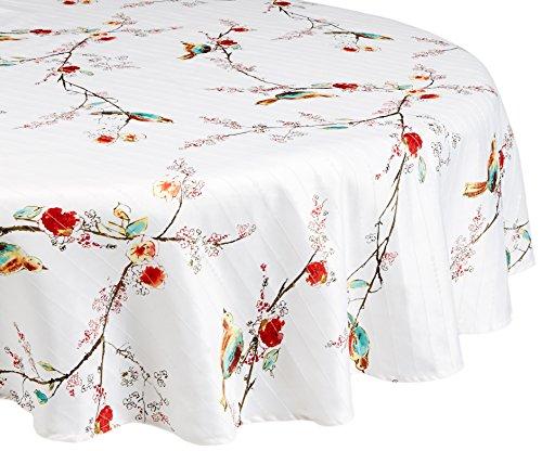 Lenox Linens - Chirp Print - Tablecloth 70 Round