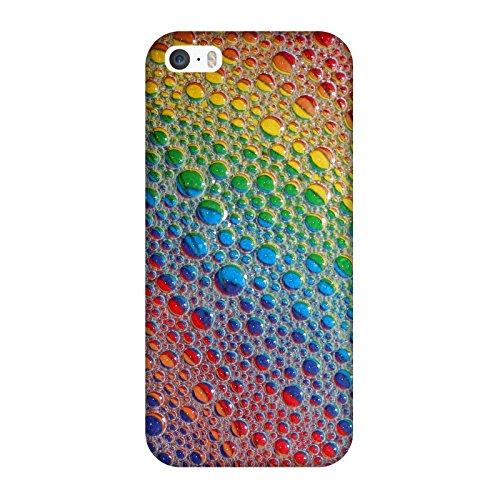 Coque Iphone 5-5s-SE - Bubble bulles colors