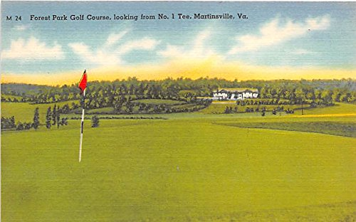 forest-park-golf-course-looking-from-no-1-tee-martinsville-virginia-va-usa-old-vintage-golf-postcard