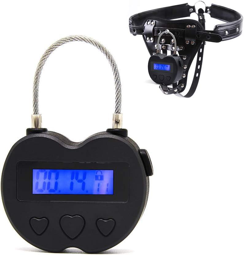 Candado de seguridad con temporizador electr/ónico y bloqueo de comportamiento para ayudar a los h/ábitos multiusos