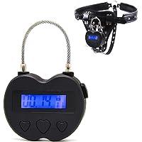 Candado de seguridad con temporizador electrónico y bloqueo
