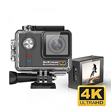 Easypix GoXtreme 20132 Color Negro Hawk 4 K Actioncam: Amazon.es: Electrónica