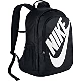 NIKE Sportswear Hayward Futura Backpack, Black/Black/White, One Size