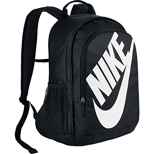 Nike Sportswear Hayward Futura Backpack for Men, Large Backpack with Durable Polyester Shell and Padded Shoulder Straps, Black/Black/White