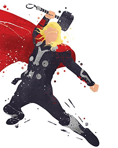 Amazoncom Superhero Avengers Infinity War Watercolor
