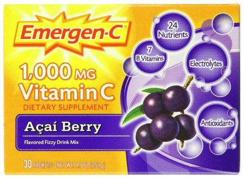 Emergen-C Acai Berry, 30-comte