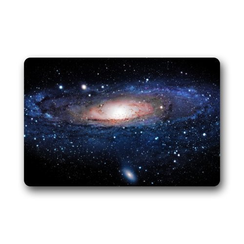 GTdgstdsc Home Fashions Rectangle Machine-Washable Non-Slip Ship Nebula Galaxy Space Universe Painting Doormat Floor Mat - 23.6 x 15.7inches,3/16inch Thickness- Stylish Door mat