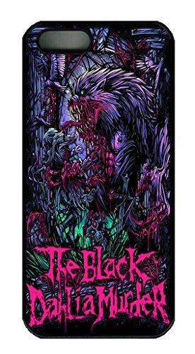 Dahlia Black Case (iCustomonline The Black Dahlia Murder Art Snap-On Cover Hard Case for iPhone 5/5S (Black))