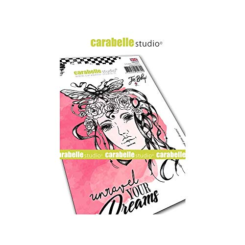 (Carabelle Studio SA60444E Unravel Your Dreams Cling Stamp A6 by Jen Bishop)