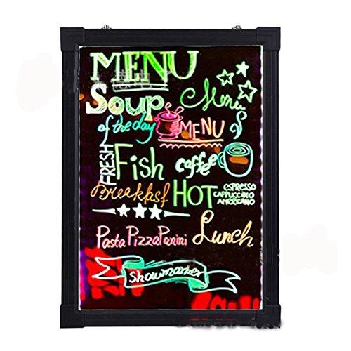 Placa de escritura con mensaje LED, efecto neón borrable ...