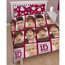 Character World 200 x 200 cm One Direction Boyfriend Double Rotary Duvet Set