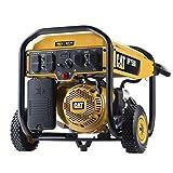 Cat RP7500E Gas Powered Portable Generator with Electric Start - 7500 Running Watts/9375 Starting Watts 490-6491