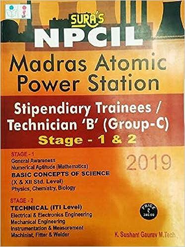 Buy NPCIL (MAPS) Stipendiary Trainees / Technician B (Group-C) Exam