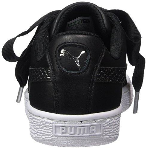 Basse Black Heart puma Scarpe Basket White Ginnastica Wn's Puma Da Oceanaire puma Donna Nero BqT0PWw1