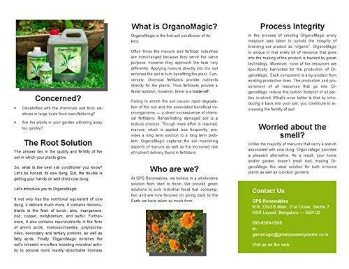 OrganoMagic Liquid Soil Booster Organic Liquid Fertilizer
