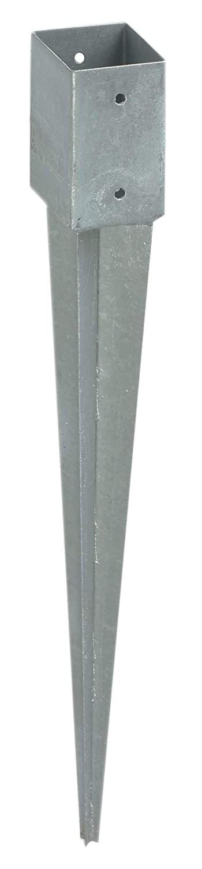 Gartenpirat Einschlagbodenhü lse Pfostenträ ger 71 mm fü r Pfosten 7x7 cm