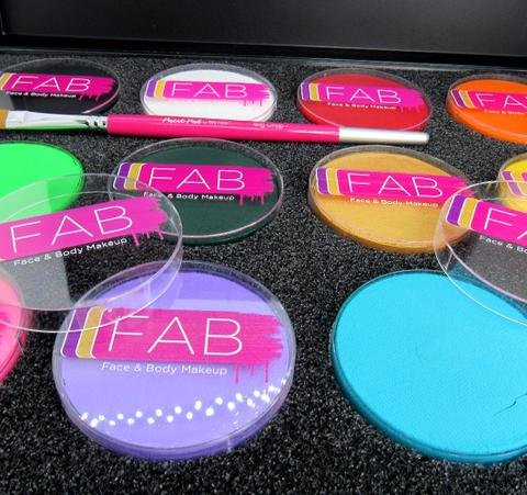 Silly Farm Professional Face Painting FAB 12 Color Pro Palette