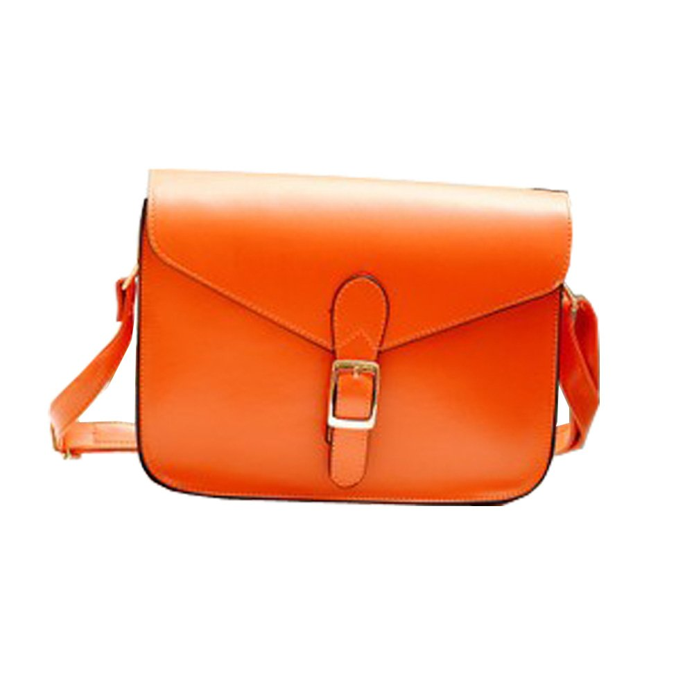 Top Shop Womens Mini Preppy Style Shoulder Handbags Casual Totes Messenger Bags Hobos Orange Satchels