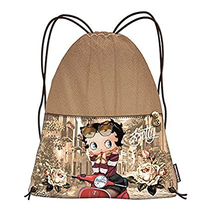 Boop Sac Bagages Betty Rouge Scooter Cordon Grand dStqS