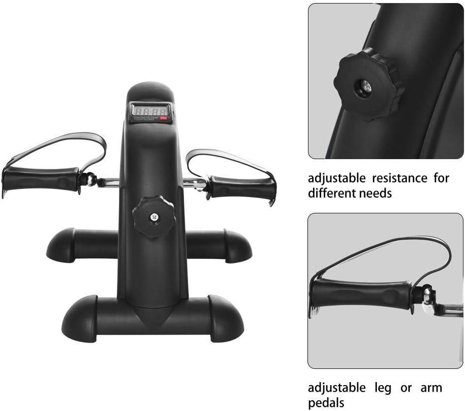 YTBD-//US Stock//-Exercise Bike for Spin Bike Indoor Stationary Exercise Bike Mini Stepper Home Pedal Mute Multi-Function Stepper Pedal Exercise Bike
