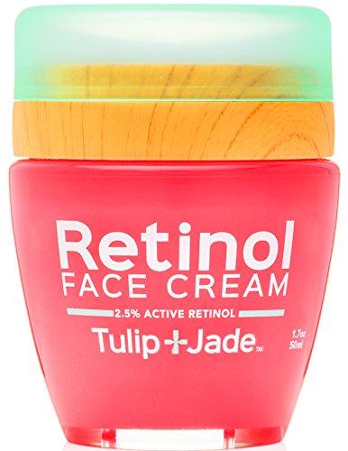 Jade Cream - Retinol Face Cream Tulip and Jade - 2.5% Strength without a Prescription - Organic & Vegan