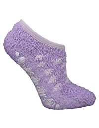 Dr. Scholl's Women's Pedicure Spa Sock with Dots - 2 Pair Pack