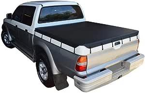 Mitsubishi Triton MK (1997 to Oct 2006) Double Cab Bunji Tonneau Cover