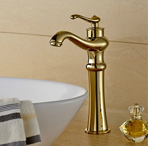 MDRW-Multi style waterfall faucet, basin faucet copper gilt,E by MDRW