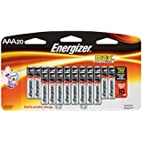 Energizer AAA Batteries, Triple A Battery Max Alkaline (20 Count) E92LP-20