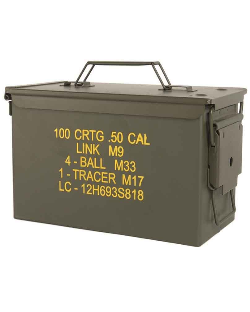 Caja de municiones de Estados Unidos Munición Caja M19A1: Amazon.es: Deportes y aire libre