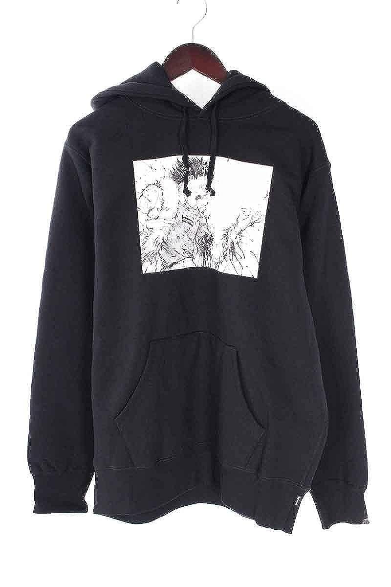 (シュプリーム) SUPREME ×アキラ 【17AW】【Arm Hooded Sweatshirt】×AKIRAプリントプルオーバーパーカー(M/ブラック) 中古 B07DXMDTSP  -